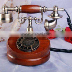 rotary dial old fashion telephone