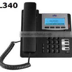 KNTECH RJ45 SIP phone gateway office IP telephone PL340 voip phone