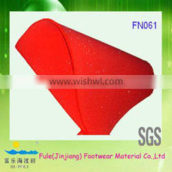 recycle chronic rebound sponge for insoles