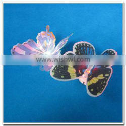 Alibaba wholesale butterfly shaped led color changing candle