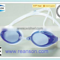 Fashionable Swimming Goggles PC Lens with Replaceable Nose-bridge