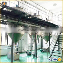 Edible Cooking CottonSeed Sunflower palm crude oil deodorization and decolorization refining production line equipment