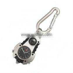 Hot design mountaineering outdoor sport watch with compass and LED light