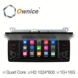 Ownice Android 4.4 touch screen Stereo Auto radio player for BMW E46 M3 with wifi bluetooth phonebook IPOD