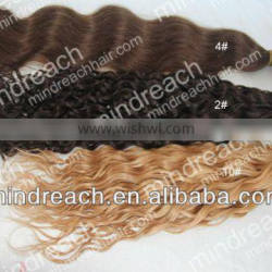 """2013 Fashion style AAAAA-grade 22"""" 4# BW handtied Indian hair weft,accept escrow payment"""