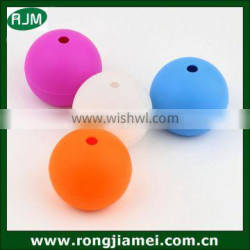 Funny silicone round ball shape ice cube maker wholesale