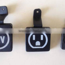 OEM customized design Injection plastic parts for electronic equipment