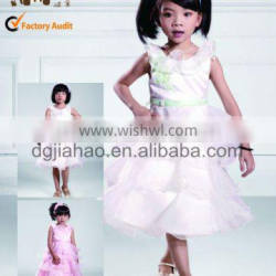 latest chindren dress with high quality 2012 fashion designs