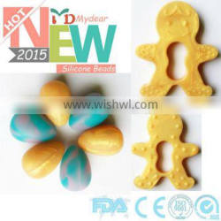 Baby Chewable Jewelry Baby Teethers Toys/2014 Cheap Price Promotion Silicon Baby Chewable Jewelry