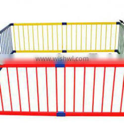 Wooden Baby Playpen Multicolour/ Large Playpen