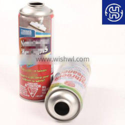 Diam.65*156mm 450ml Carb Cleaner Metal Empty Tin Can Aerosol Can