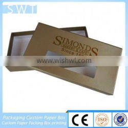 custom shape and size corrugated outer carton box