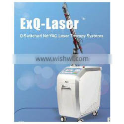 2016 New arrival Q Switched Nd Yag laser for spots or pigment removal machine