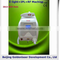 Improve Flexibility 2013 Importer E-light+IPL+RF Machine Beauty Equipment Hair Removal 2013 Clear Out Hot Hair Removal Diode Laser Remove Diseased Telangiectasis