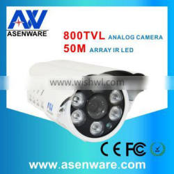 New Model of IP66 Weatherproof 800 TVL Analog RoHs CCTV Camera With 50M IR Night Vision Distance AW-C585