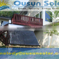 Durable non-pressurized Thermosyphon diy solar projects