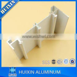 Powder coating aluminum window track profil aluminum