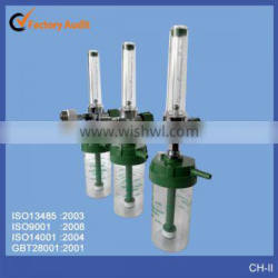 Medical Hospital oxygen flowmeter with humidifier
