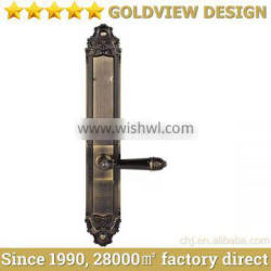 2014 New Stainless steel Fingerprint door lock with Touch screen and Touch Screen