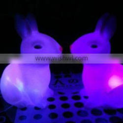 LED night light, colorful the Jade Hare -- the moon night light