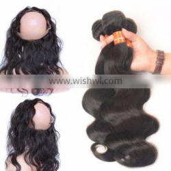 Aliexpress Virgin Brazilian Human Hair 360 Lace Frontal Cheap Back Lace Band Frontal Closure With 360 Lace Band Frontal
