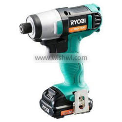Best selling and High-grade Rechargeable Impact Driver Drill Electric Tools with multiple functions made in Japan