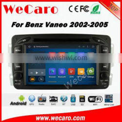 Wecaro WC-MB7507 Android 5.1.1 car dvd player For benz Vaneo Viano W639 W638 2002 2003 2004 2005 radio gps navigation multimedia