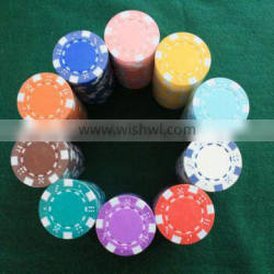 color pure clay Dunes Engraved Sticker Poker Chip Case