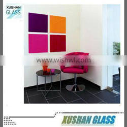 Tempered Glass Writing Board 35x35cm, Selected color