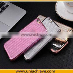 Slim Dotted Electroplating Skin Gel Silicone Soft TPU Case For Apple iPhone 6S / iPhone 6S Plus