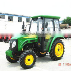 55HP 4WD Paddy field tractor with cabin for sale