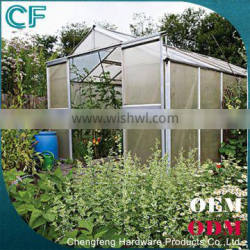 Double Doors Aeroponic Low Cost Agricultural Garden Tunnel Green House