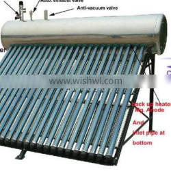 The best popular Integrative heat pipe solar water heaters