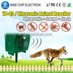 Outdoor Ultrasonic mice snake chaser Solar Animal bird Repeller Pest control