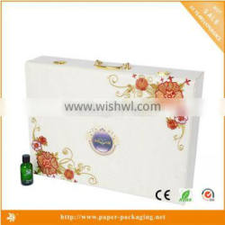 white color cardboard ring jewelry box