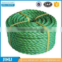 3 Strand Price Color Braided Twisted Yarn packing Nylon Ropes For Sale