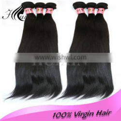 Beauty full cuticle hold double weft unprocessed remy human hair