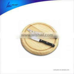 best grade cheese gadget set of 4pcs with wooden cutting board and pp handle