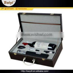 New Design Essential Wine Accessories Luxury Gift Set With Box