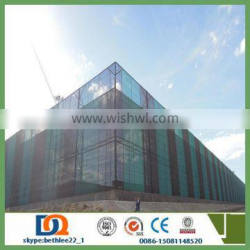 twins peaks wind dust net 6/Galvanized plate dust suppression and windproof screen