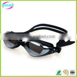 Silicone swim goggles/swimming glasses