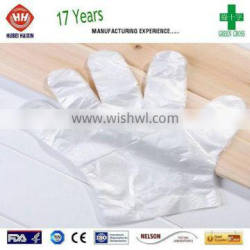 HDPE/LDPE Disposable ldpe glove