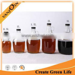 1L Home Brewing Beer Bottle With Plastic Cap