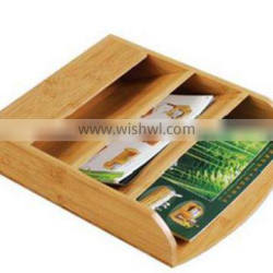 MDFbamboo Desktop Organizer for wholesaler