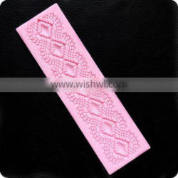 wholesale FDA approved food grade heat resistant quality non-stick lace silicone molds