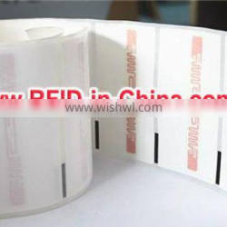 13.56MHz ISO15693 RFID Pre Printed Labels for Book Tracking System