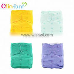 Elinfant double row snap Adjustable Baby Cloth Diaper Nappies Available Cloth Diapers