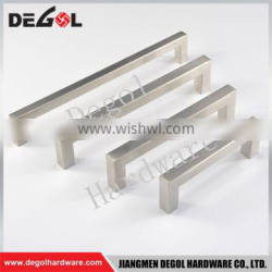 Manufacturers in china stainless steel brushed nickel cabinet handles