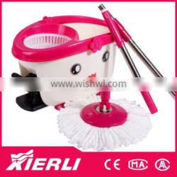 2015 hot sale easy life 360 rotating spin magic mop