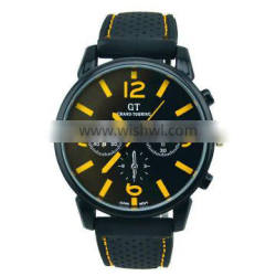 silicone yellow 2014 new arrived Men Sport Army watch